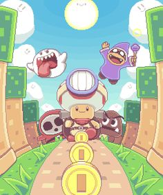 Paul Robertson — CAPTAIN TOAD