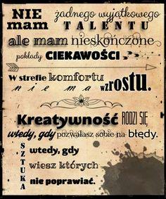 Cytaty artystyczne / Artsy quotes