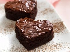 How come I've never thought of making the famous Wallace brownies as a snack for Children's Church. Brownie Low Carb, Brownie Bar, Healthy Brownies, Brownie Points, Fudgy Brownies, Great Recipes, Favorite Recipes, Healthy Recipes, Recipes Dinner