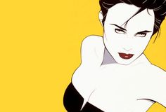 Patrick Nagel  Admit it....you had one or two.