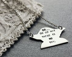 Yoda!!! I would love this necklace :)