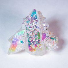 Opal Aura Quartz Cluster, XL Size, Crystal Cluster, Aura Stone, Altar Stone, Reiki Supplies by wearAURA on Etsy https://www.etsy.com/listing/234882440/opal-aura-quartz-cluster-xl-size-crystal
