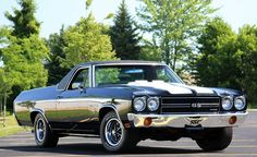 1970 Chevy El Camino SS Maintenance/restoration of old/vintage vehicles: the material for new cogs/casters/gears/pads could be cast polyamide which I (Cast polyamide) can produce. My contact: tatjana.alic@windowslive.com