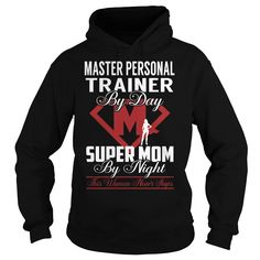 Master Personal Trainer Super Mom Job Title TShirt