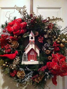 Still Woods Farmhouse: Christmas Door Decor Inspiration!