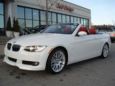 2007 BMW 3 Series Pictures: See pics for 2007 BMW 3 Series. Browse interior and exterior photos for 2007 BMW 3 Series. My Dream Car, Dream Cars, Bmw Convertible, New Luxury Cars, Bmw 3 Series, Red Interiors, Amazing Cars, Cars Motorcycles, Interior And Exterior