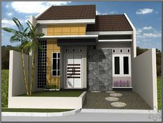 Simple wooden houses have evolved in various styles. A modern minimalist wooden house that is very attractive Minimalist House Design, Minimalist Home, Build Your House, Building A House, Modern Bungalow House, Brick Construction, Latest House Designs, House On Stilts, Wooden House