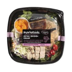 Marketside Asian Chicken Salad, 17.25 oz ($26) ❤ liked on Polyvore featuring food, food and drink, fillers, comida and food & drink
