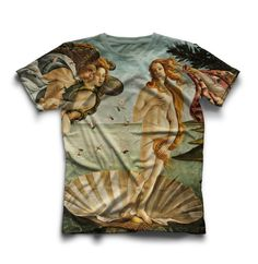 Unique unisex t-shirt with high quality full print by OnmeClothing