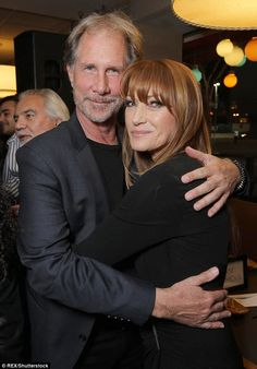 Good friends: The Hollywood beauty cuddled up to fellow actor Parker Stevenson. Shaun Cassidy Today, Hot Men, Hot Guys, Parker Stevenson, Greenhouse Academy, Knots Landing, Jane Seymour, Old Tv, Baby Daddy