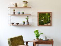 greeniche : 壁にグリーンのある生活