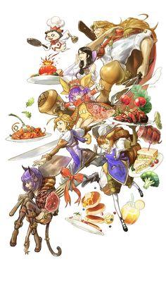 料理を題材にしたスマホ向けRPG「グランマルシェの迷宮」で事前登録の受付がスタート。オープニングアニメも公開 - 4Gamer.net