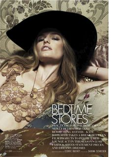 visual optimism; fashion editorials, shows, campaigns & more!: bedtime stories: kate bosworth by cedric buchet for us elle march 2013