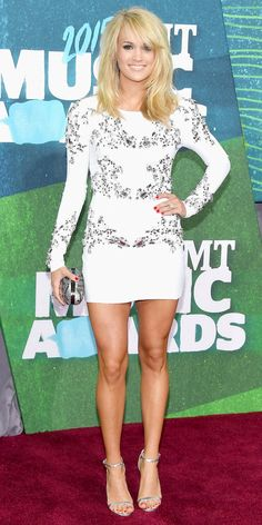2015 CMT Music Awards Red Carpet Arrivals: See the Best Looks - Carrie Underwood from #InStyle