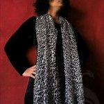 This gorgeous leopard Print stole in black and gray shade will add wild beauty to your accessory collection. Team it with your overcoat/ jackets or tops for stunning and stylish look. Made of a polyester this stole is soft and lightweight.