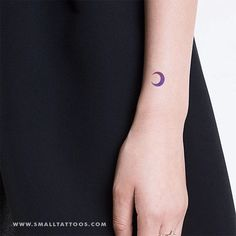 Purple and Pink Crescent Moon Temporary Tattoo by Zihee (Set of – Small Tattoos Nails Moon, Temporary Tattoos, Small Tattoos, Astronomy Tattoo, Permanent Tattoo, Piercing Tattoo, Piercings, Fall Nail Designs, Orange Nails