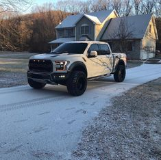 Image may contain: car, tree, sky, snow, outdoor and nature Chevy Diesel Trucks, Old Ford Trucks, Lifted Ford Trucks, Jeep Truck, Pickup Trucks, Ford 4x4, Lifted Chevy, Ford Shelby, Ford Mustang Gt