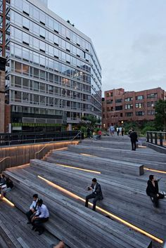 high line stairs lamp - Google Search