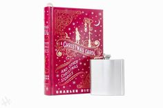 image 0 A Christmas Carol Quotes, Book Safe, Accessories Display, Family Love, Laser Engraving, Flask, Unique Gifts, Vintage Fashion, Monogram