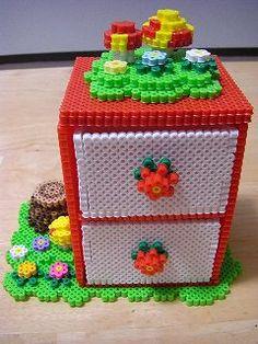 box: hama beads
