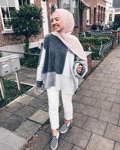 💛💛💛💛💛💛💛💛💛💛 B outfits in 2019 fashion, b hijab fashion - Hijab Modern Hijab Fashion, Muslim Women Fashion, Street Hijab Fashion, Hijab Fashion Inspiration, Modest Fashion, Fashion Outfits, Modest Outfits Muslim, Casual Hijab Outfit, Hijab Chic