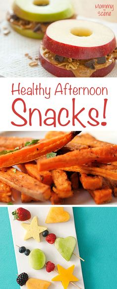 Your kids will love these healthy afternoon snacks!
