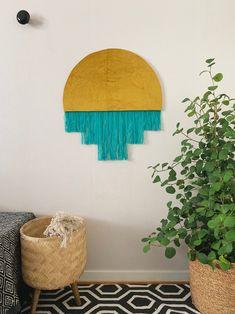 Nefertiti | Handmade Fiber wall art | Contemporary wall art | Wall hanging | Fiber canvas | Fabric wall art | Modern fiber art | Home Décor