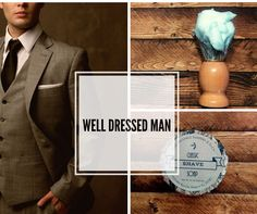 4.5 Oz Shave Soap - Well Dressed Man For the traditional wet shaving experience…