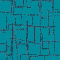 AGFK40452  -  Imprint Maze Blues Knit  - Art Gallery Fabric 58in/60in Per Metre