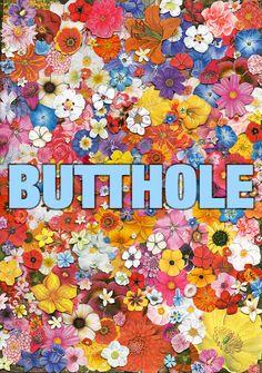 butthole.