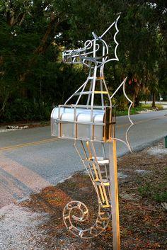 Seahorse mailbox