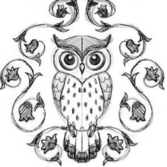 Super how to draw an owl easy artists Ideas Painting & Drawing, Easy Drawings, Owl Drawings, Simple Owl Drawing, Drawing Owls, Simple Owl Tattoo, Easy Animal Drawings, Owl Art, Doodle Art