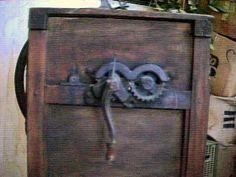 Antique CORN SHELLER by dagutzyone on Etsy