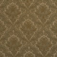 The K6653 SAGE/CAMEO upholstery fabric by KOVI Fabrics features Heirloom or Vintage pattern and Dark Green as its colors. It is a Brocade or Matelasse, Damask or Jacquard type of upholstery fabric and it is made of 75% cotton, 25% polyester material. It is rated Exceeds 35,000 Double Rubs (Heavy Duty) which makes this upholstery fabric ideal for residential, commercial and hospitality upholstery projects. For help Call 800-8603105.