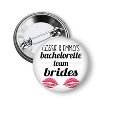 team brides personalized please leave both names in the notes to seller during checkout