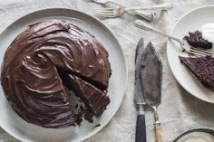 Rice decadent and moist, Chelsea's egg free chocolate cake is already dairy-free and will have people coming back for seconds and thirds! And it works well with gluten-free flour mix.