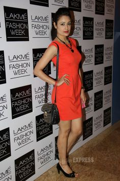 Yuvika Choudhary was red hot at the Lakme Fashion Week 2014 #Style #Bollywood #Fashion #Beauty #LFW2014