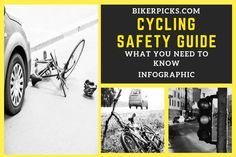 Cycling Safety Guide – What You Need To Know Best Mountain Bikes, Mountain Biking, Need To Know, Cycling, Infographic, Safety, Knowledge, Stay Safe, Purpose