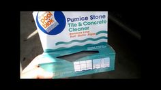 Cleaning your pool tiles (calcium & stain removal!
