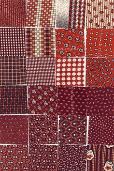 Great fabric swatches! Madder prints