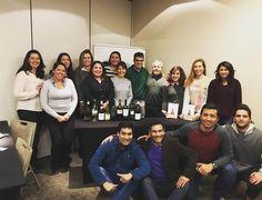 """Un súper grupo un súper curso y un súper profe!!! Gracias a todos los que participaron del curso """"Sommelier: Más Allá Del Maridaje"""" #thewineschool #vinos #sommelier #ferrancentelles #winelovers"""