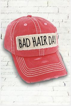 17a85a9d6c6 This cap is the perfect year-round fashion accessory -- especially on those  bad hair days! Cotton Distressed Cap Frayed Edge Patch with Black  Embroidered S