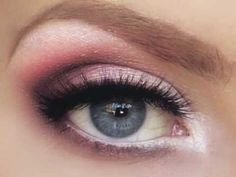 wedding eye make-up..has video tutorial as well
