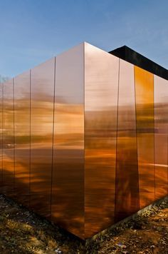 copper clad wall - Google Search