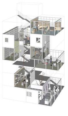 Interesting Find A Career In Architecture Ideas. Admirable Find A Career In Architecture Ideas. Architecture Design, Architecture Collage, Architecture Board, Architecture Graphics, Architecture Drawings, Concept Architecture, 3d Modelle, Urban Design, Building Design