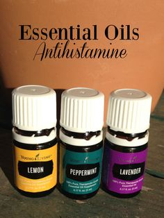 Essential oils can be used as a natural antihistamine that does work on mild allergies.