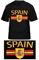 BEWILD: Spain Vintage Shield International Mens T-Shirt Buy Now $14.99 Find at Faearch