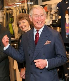 Prince Charles Business In The Community Visit