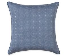 Wendy Bellissimo™ Maverick Embroidered Square Throw Pillow | Wendy Bellissimo