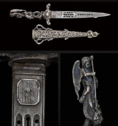 French Ceremonial Dagger  •Dated: circa 1860's – 1870's